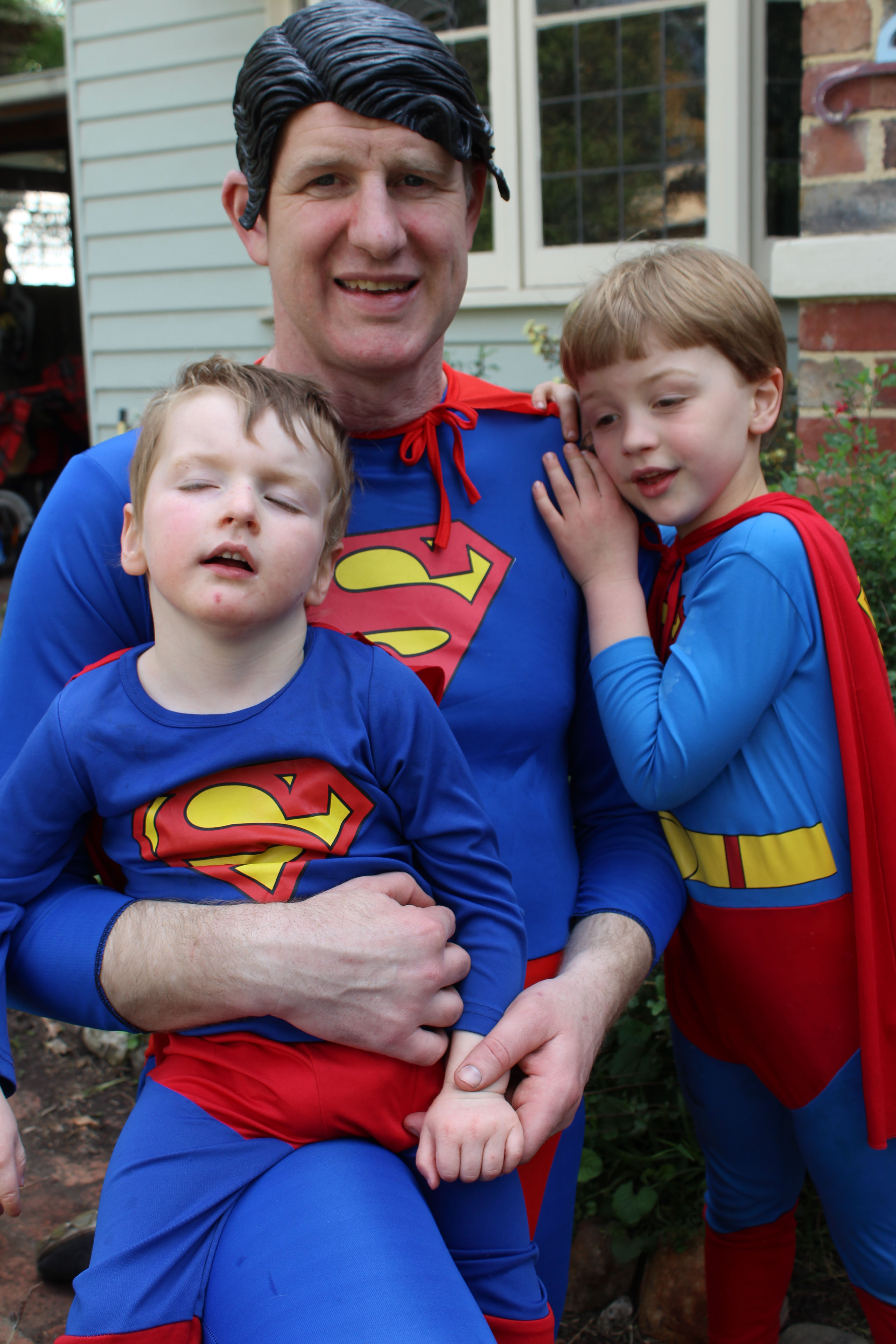Jack's brother Harry had a Superman party for 6th birthday. We skimped on the entertainer.