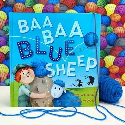 Baa Baa Blue Sheep is the third in the what happened before the famous nusery rhyme series by Tony Wilson and Laura Wood.